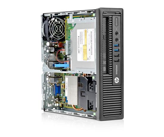 HP EliteDesk 800 G1 Ultra-Slim Desktop PC - 128GB SSD